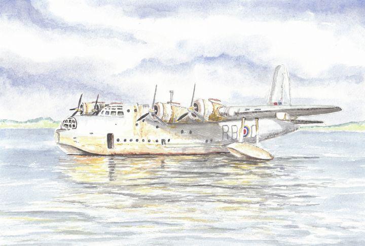 Short Sunderland Flying Boat - Papilios Creative