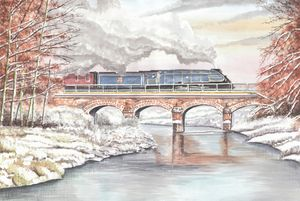 Steam Train, Sir Nigel Gresley
