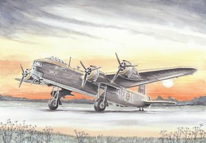 Short Stirling WII Bomber