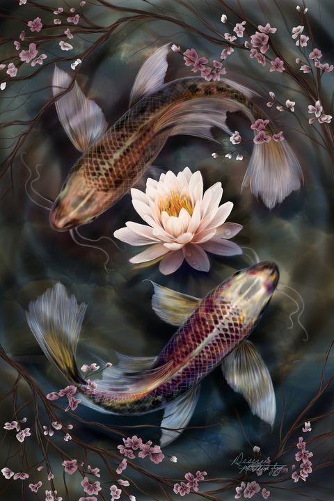 Koi tranquility - Desiree Mattingly