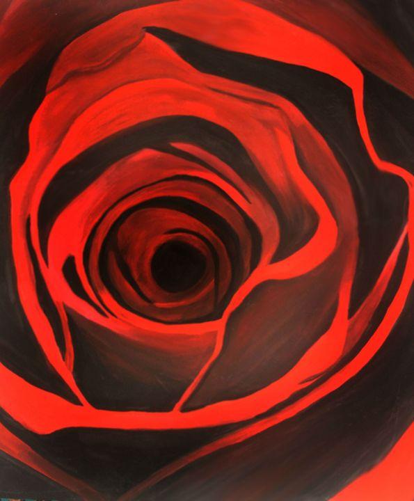 The Red Rose - Sabrine Marsou