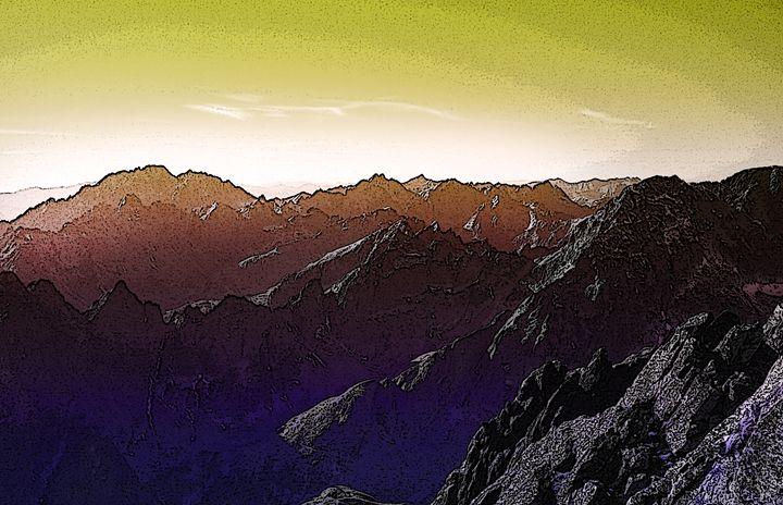 Mountain tops - Magdalena Ziemak
