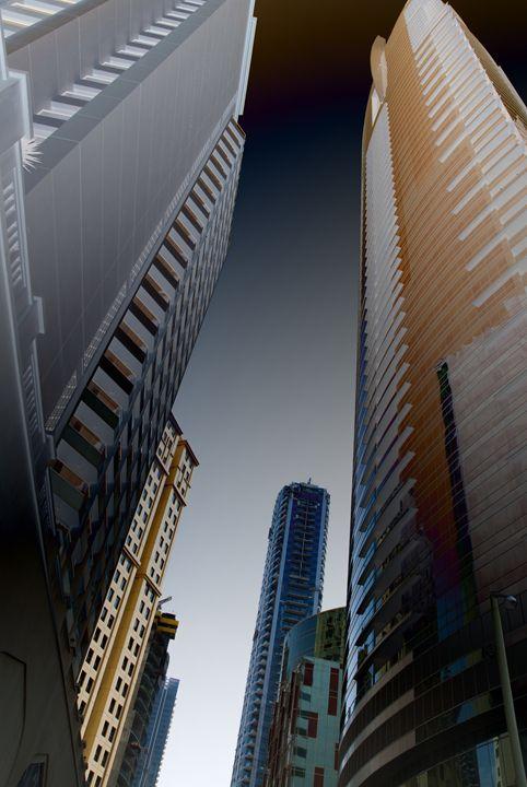 Skyscrapers - Magdalena Ziemak
