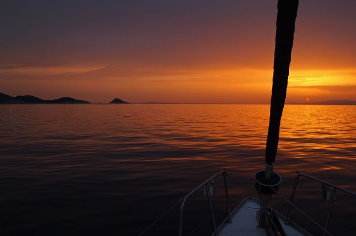 Croatia sunset - Magdalena Ziemak