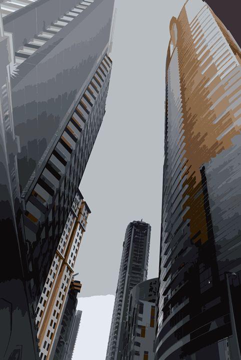 Another skyscrapers - Magdalena Ziemak