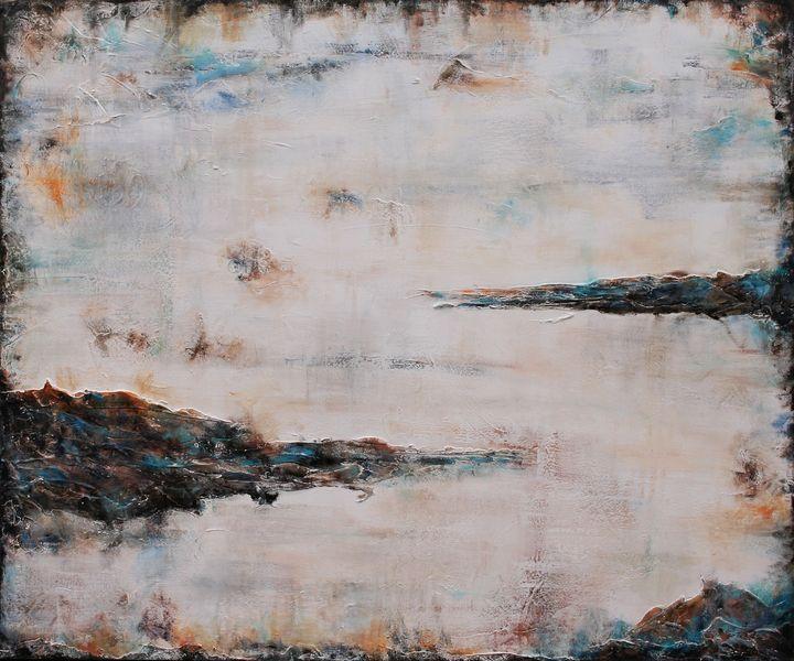 Distant Light X Large Textured Art - Susan Wooler