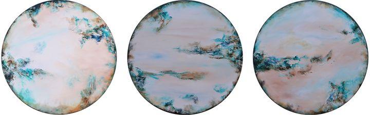 Bluewater Bay Triptych - Susan Wooler