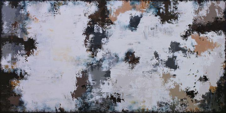 XXXL Abstract Montpellier 160 x 80cm - Susan Wooler