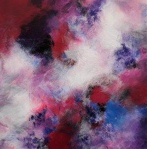 Crimson In The Skies Textured
