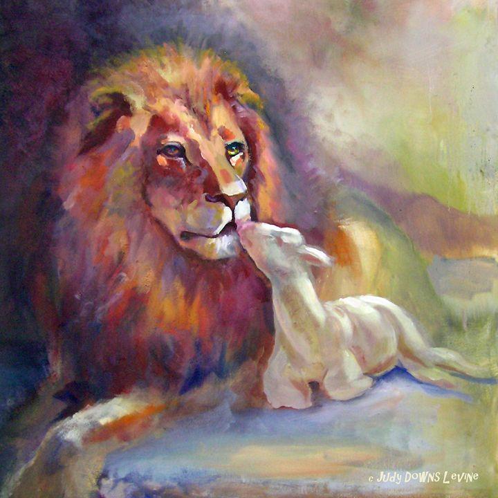 Lion of Judah Lamb of God - Judy Downs