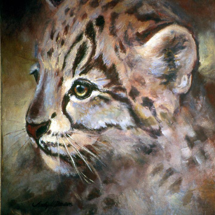 Snow Leopard Cub - Judy Downs