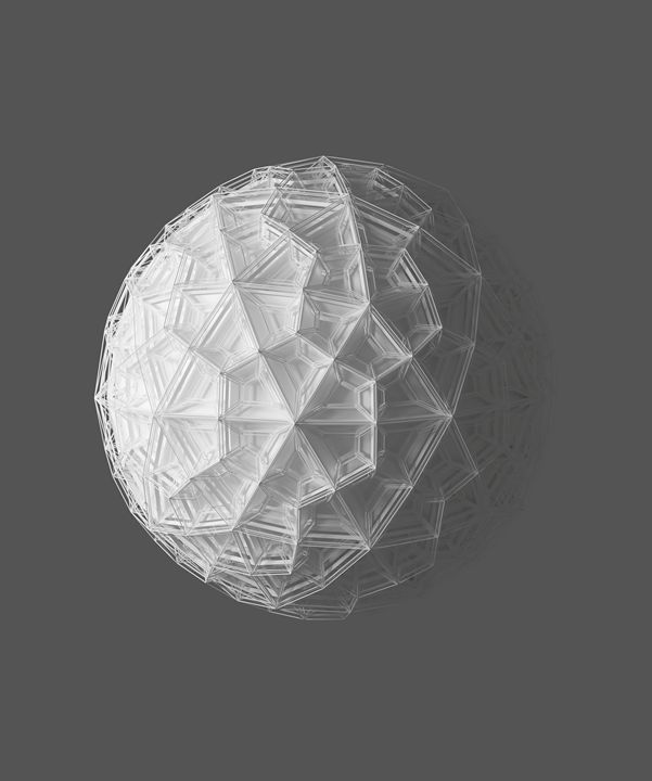 WIREFRAME ICOSPHERE - Photography