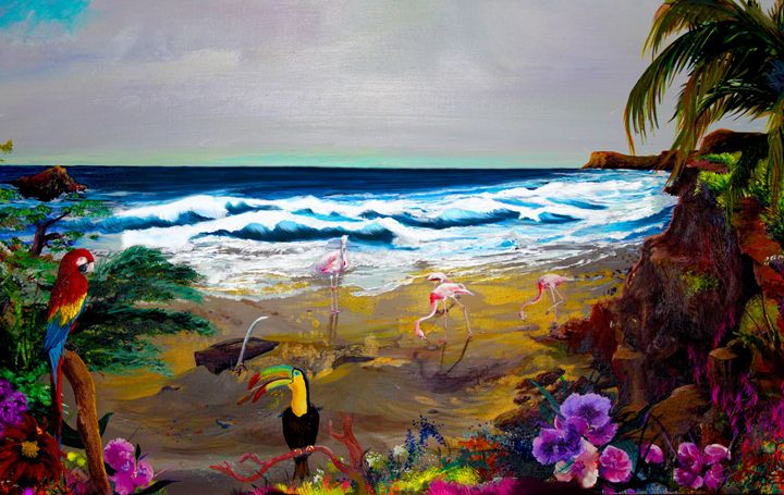 Toucan Island - Perrys Art