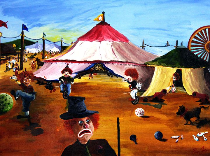 Circus of Clowns - Perrys Art