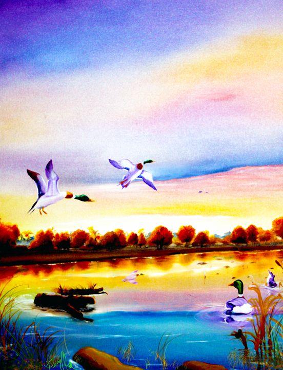 Autumn Haze - Perrys Art