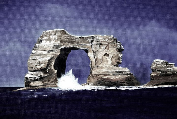 Natural arch - Perrys Art