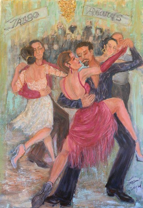 Tango Dancers 111 - Le Swan Gallery