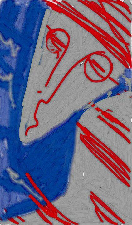 indifferent person - ART NASTYA