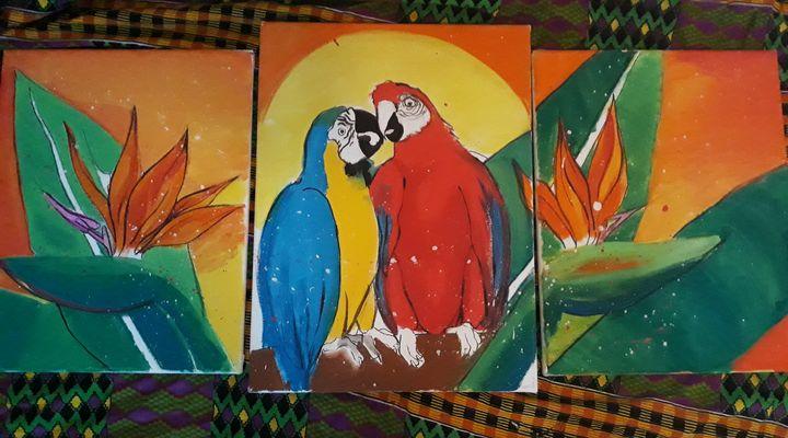 Birds of paradise - Debbie pinker