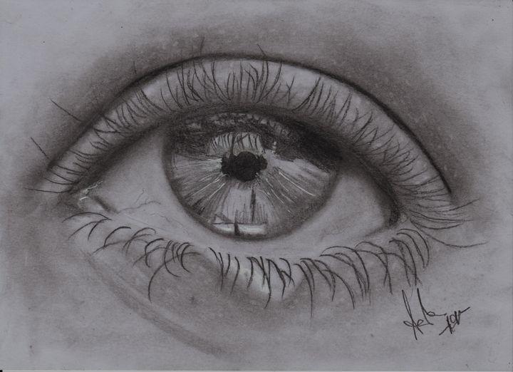 Crying eye - Aisha Santos