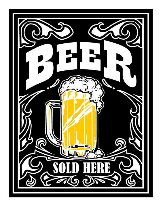 Beer Sold Here - JABWorkshop