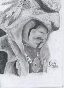 Assasins Creed drawing