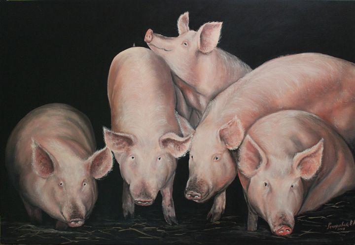 Piglets - Kucheryavyy Viktor