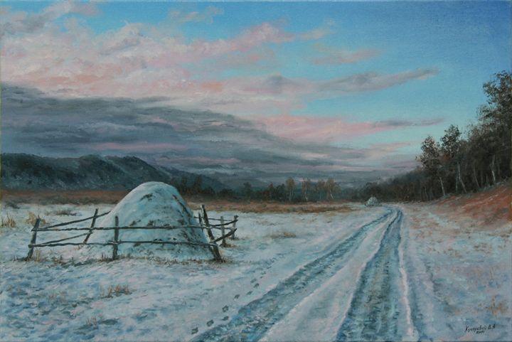 A Cold Night Coming Up - Kucheryavyy Viktor