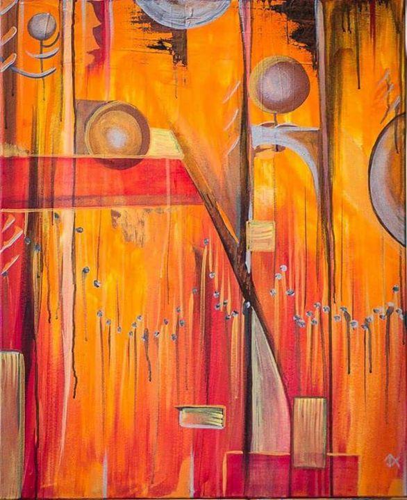Mars - The Art of Josh Altenbernd
