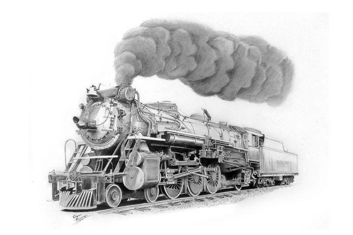 Southern PS-4 1401 - Art by Bryan