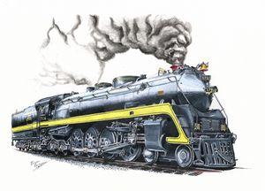 "NC&STL 576 ""Yellowjacket"" J3 class"