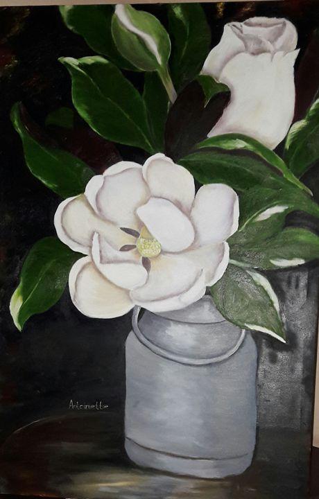 Flower - art by Antoinette