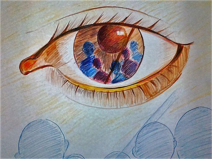 Reflection (Graffiti) - color