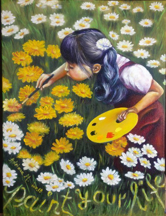 Paint your life - Adriana Manea