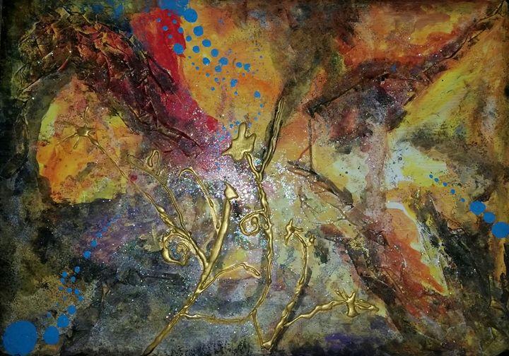 Galaxy - Art By April