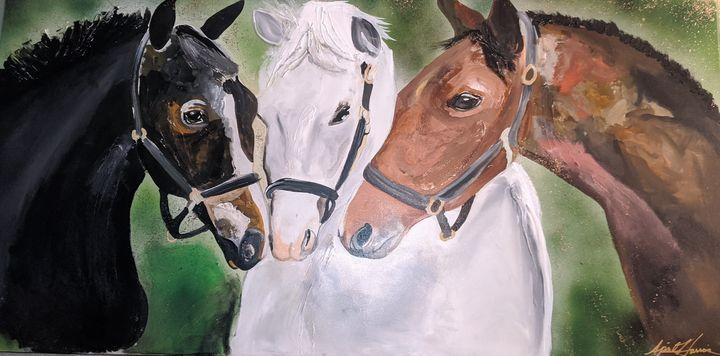 HORSES WHISPER - Art By April