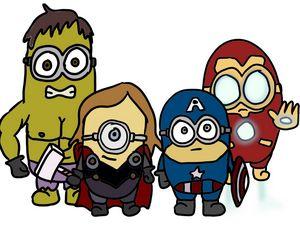 Minion avengers - theyn_draw
