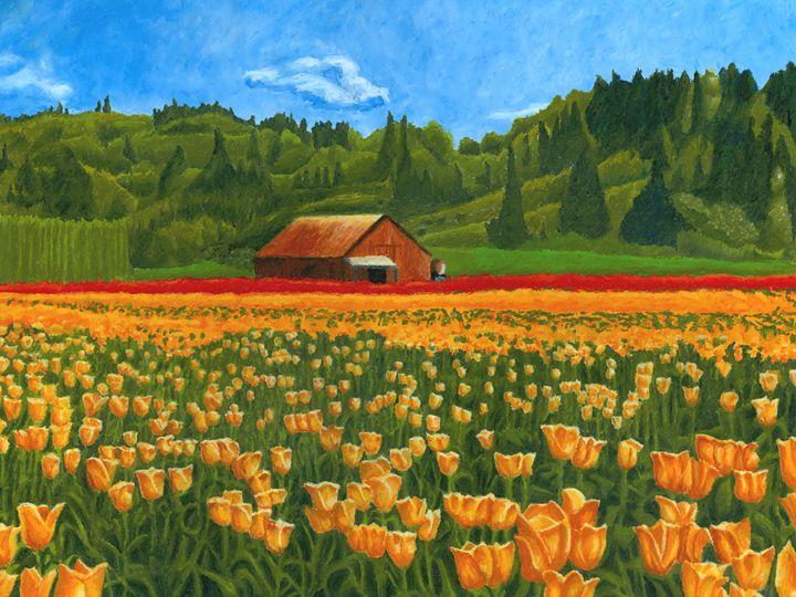 Tulip Field - The Dominic White Studio