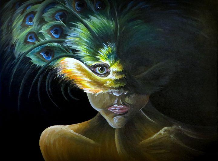 Masquerade - Kristen Ann's Paintings