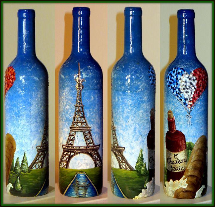 Parisian Pinot - Kristen Ann's Paintings