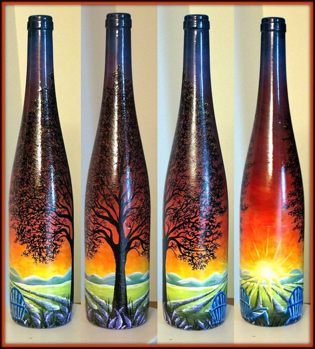 Lavender Lambrusco - Kristen Ann's Paintings