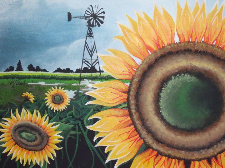 Sunflower - Kristen Ann's Paintings