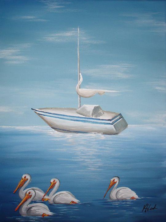 Sailing - Kristen Ann's Paintings