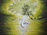 11x14 acrylic on canvas