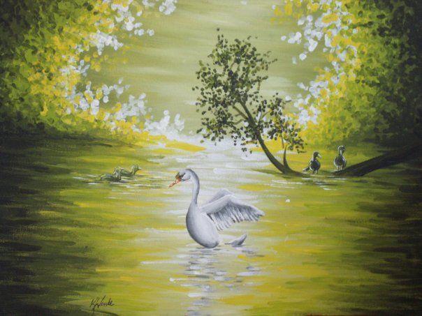 Swan Lake - Kristen Ann's Paintings