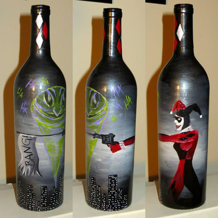 Comics and Cabernet - Kristen Ann's Paintings