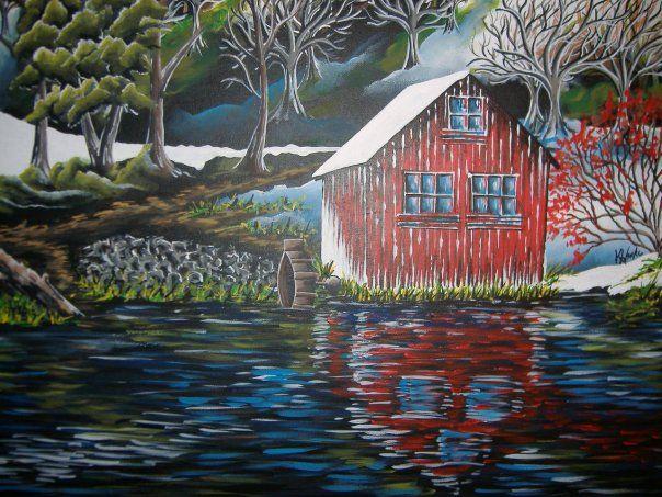 Cabin - Kristen Ann's Paintings