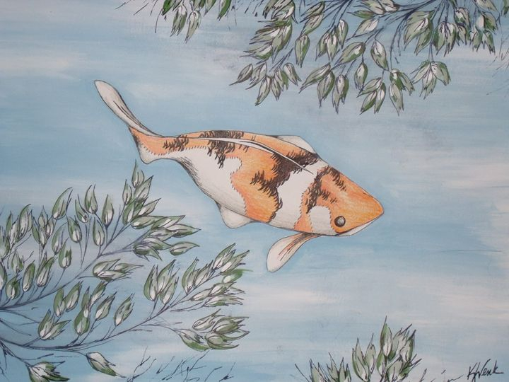 Koi - Kristen Ann's Paintings
