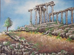 Ruins II - Kristen Ann's Paintings