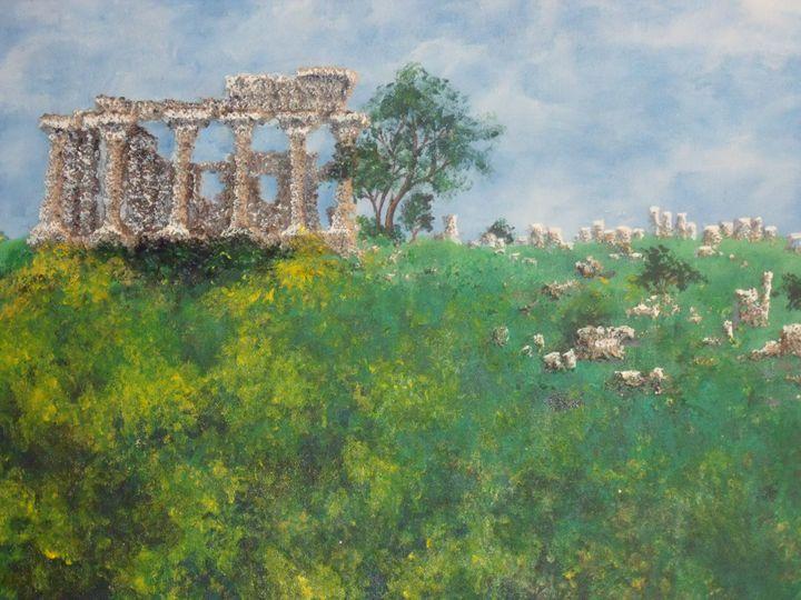 Ruins I - Kristen Ann's Paintings
